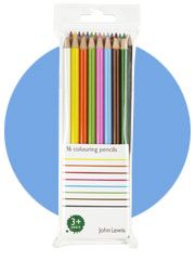 John Lewis Colouring Pencils