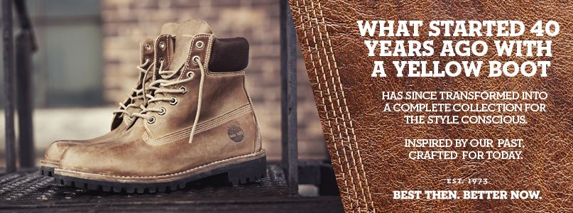What started 40 years ago with a yellow boot has since transformed into a complete collection for the style conscuious. Inspired by our past crafted for today.