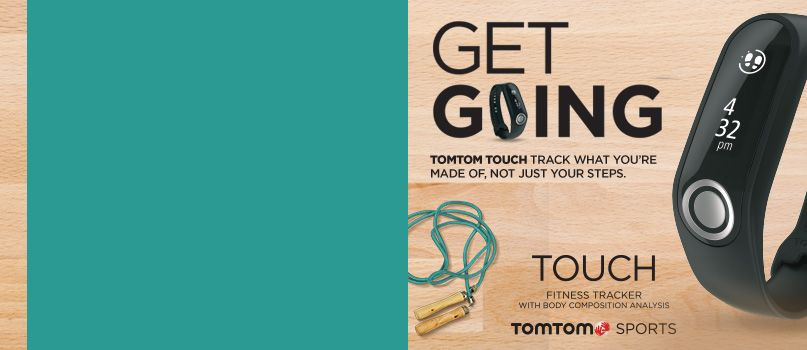 Tom Tom touch watch
