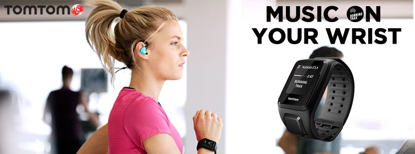 TomTom. Music on your wrist