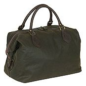 Barbour Wax Cotton Explorer Holdall