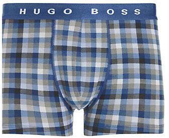 Hugo Boss check trunks