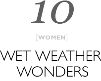 Top 10 Wet weather wonders