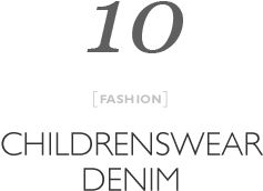 Top 10 Childrens denim