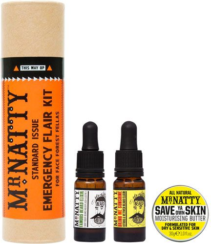 Mr Natty Emergency Flair Kit Beard Gift Tube