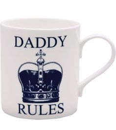 McLaggan Smith 'Daddy Rules' Mug