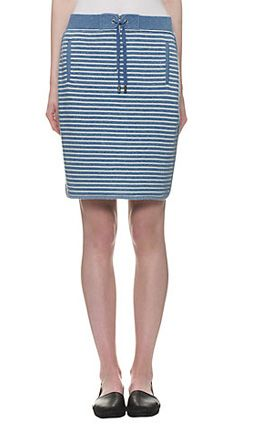 Whistles Milly Striped Skirt