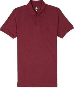 Pretty Green Albion Polo Shirt, Maroon