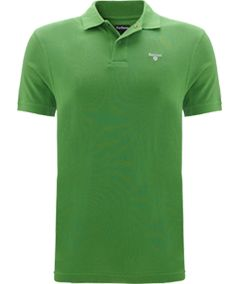 Barbour Sports Polo Shirt, Green