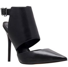Carvela Gain Leather Slingback Court Shoes