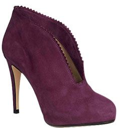 Hobbs London Bardot Shoe Boots, Pansy Purple