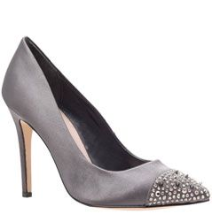 Carvela Lacey Court Shoes , Grey