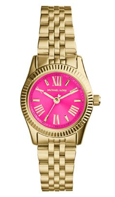 Michael Kors Lexington Mini Steel Bracelet Strap Watch