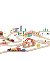 John Lewis 120 Piece Train Set, £60