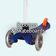 Scooters and Skateboards