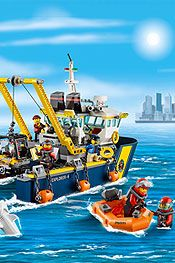 LEGO City Deep Sea Explorer Vessel