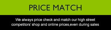 Price match - We always price check and match our high street competitiors%27 shop and online prices, even during sales