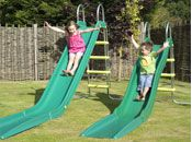 Slides, swings & climbing frames