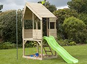 TP Wood Playhouses and Climbing Frames