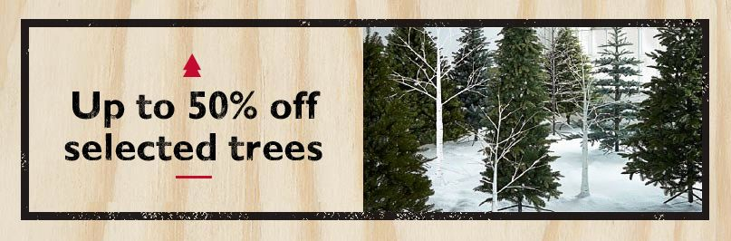30% off selected trees