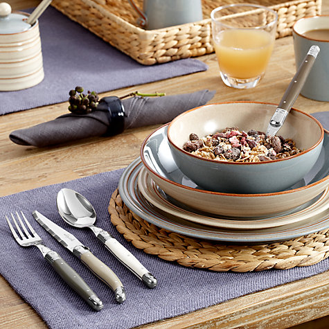 Buy Denby Heritage Terrace Pasta Bowl, Dia. 21.5cm Online at johnlewis.com