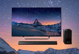 New in: Sony 4K TVs with free soundbar