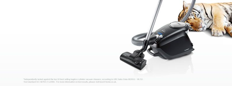 New Bosch BGS5SILGB Power Silence Bagless Vacuum