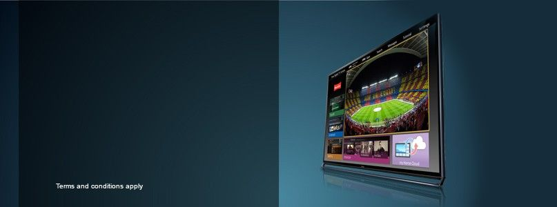 Up to £300 cashback on selected Panasonic Viera televisions