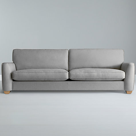 Buy John Lewis Walton Grand Sofa, Elena Putty Online at johnlewis.com