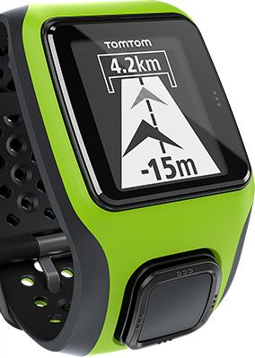 TomTom Multi Sport GPS Watch, Green/Black