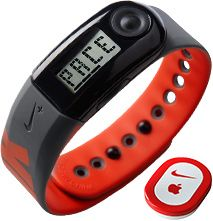 Nike+ Running Sportband, Black/Red