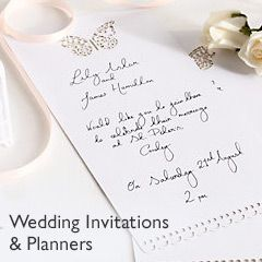 Wedding Invitations & Planners