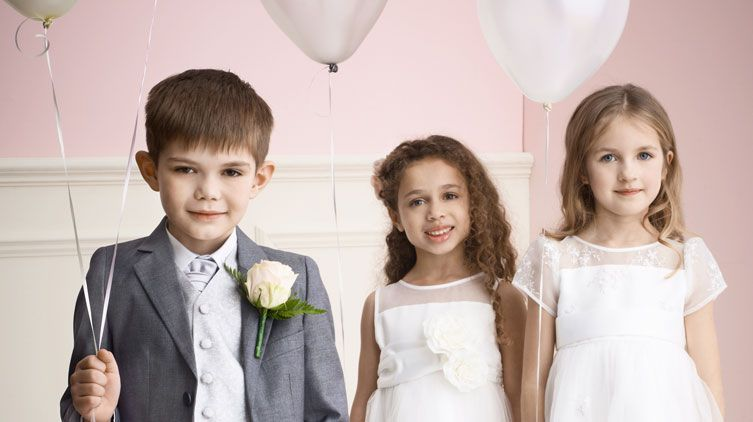 Bridesmaid and pageboy outfits video