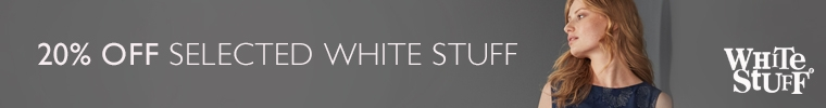 20% off selected white stuff