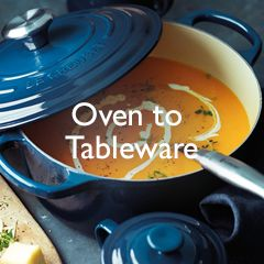 Oven-to-tableware