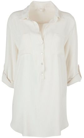 Ghost crepe shirt