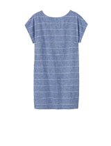 Toast Riva Chambray Stripe Dress