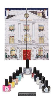Ciate Mini Mani Manor Advent Calendar Style Nail Polish Gift Set