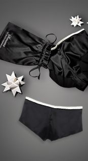 Alice Temperley Tuxedo gift set black