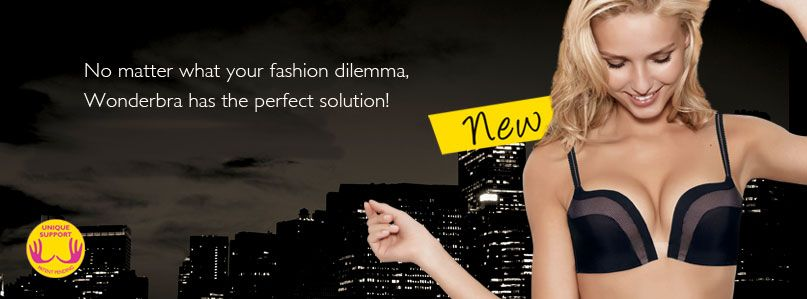 No matter what your fashion dilemma, Wonderbra has the perfect solution