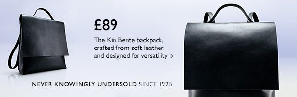 £89 Kin by John Lewis Bente backpack - Shop now