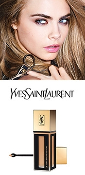 YSL - a flawless finish