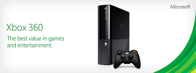 Xbox 360. The best value in games  and entertainment.