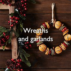 Wreaths and garlands