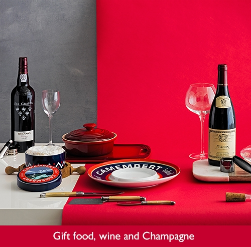 Gift food, wine and Champagne