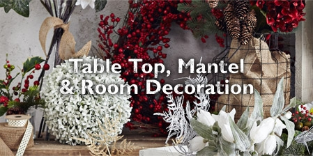 Table Top, Mantel and Room Decoration