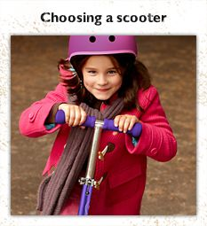 Choosing a scooter