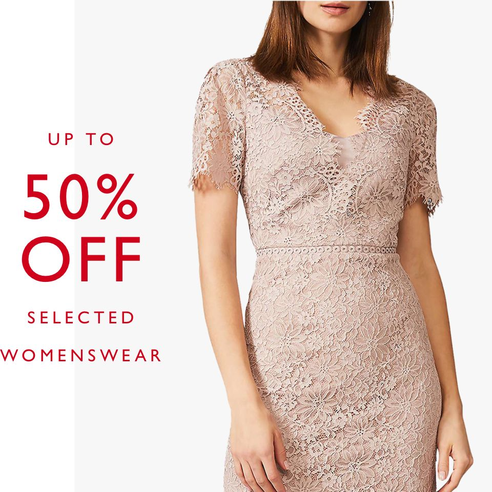 Womenswear Offers up to 50% off selected brands