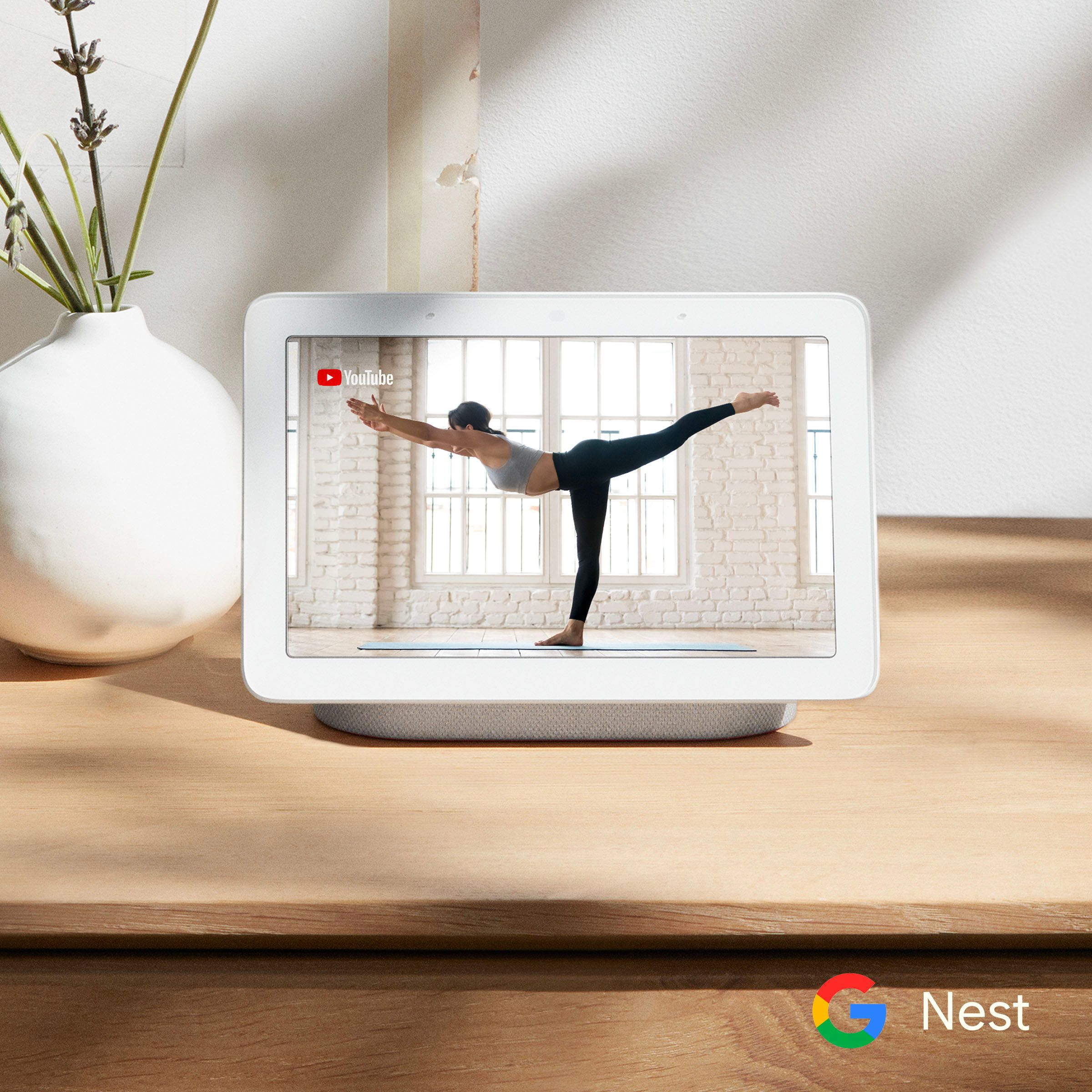 Free Yoga Mat when purchasing a Nest Hub