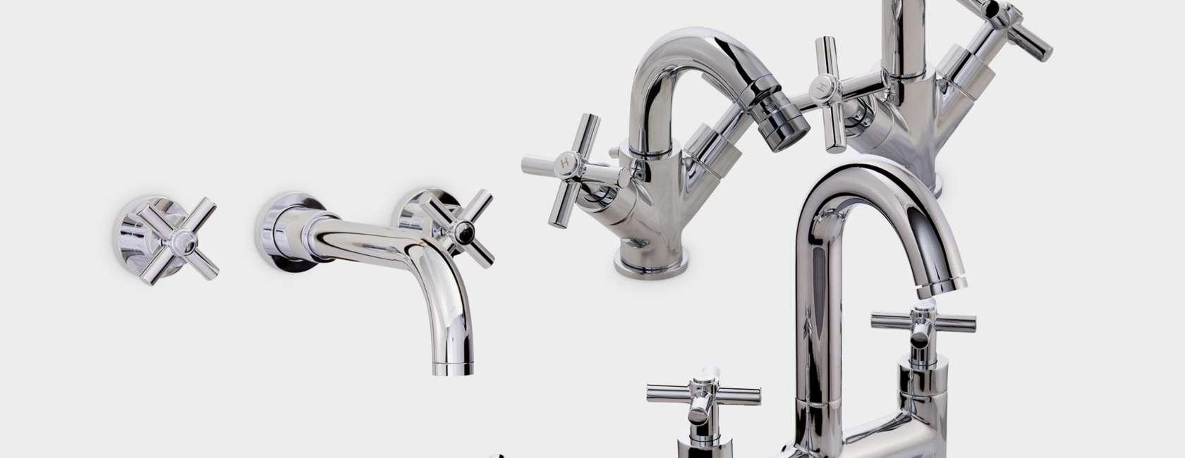 John Lewis Arun Bathroom Taps Range at John Lewis
